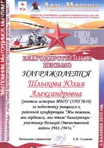 Шлыкова Ю.А. - копия